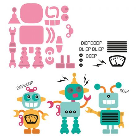 COL1403 ~ ROBOT ~ Marianne Design Collectables